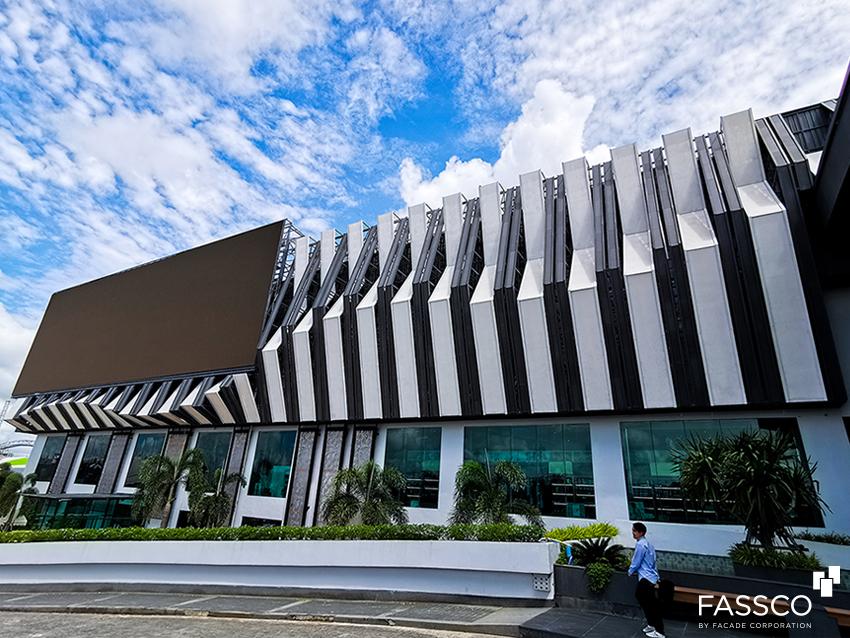 Fibrecement Ventilated facade Decoration